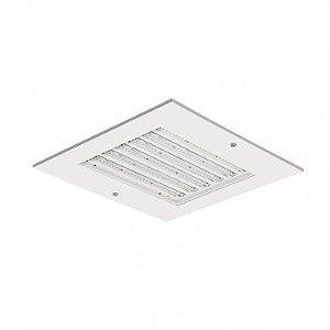 Luminária LED de Embutir Quadrada 110w 5000k 13100lm - LEDH13-5K Abalux