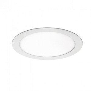 Painel LED de Embutir Redondo 18w 3000k 1260lm - LEDT17-3K Abalux