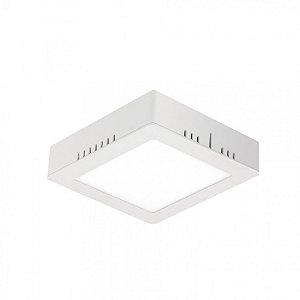 Painel LED de Sobrepor Quadrado 12w 3000k 800lm - LEDT19-3K Abalux