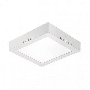Painel LED de Sobrepor Quadrado 18w 3000k 1260lm  - LEDT20-3K Abalux