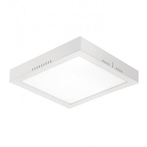 Painel LED de Sobrepor Quadrado  24w 3000k 1700lm - LEDT21-3K Abalux