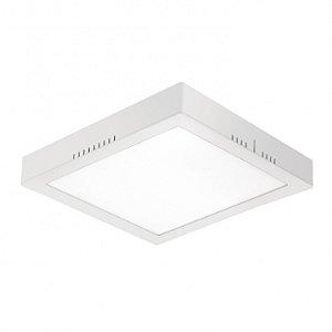 Painel LED de Sobrepor Quadrado 24w 6000k 1700lm - LEDT21-6K Abalux