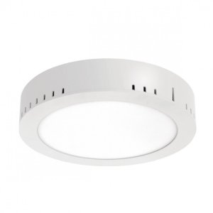 Painel LED de Sobrepor Redondo 18w 3000k 1260lm - LEDT23-3K Abalux