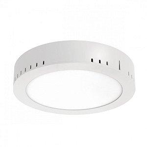 Painel LED de Sobrepor Redondo 18w 6000k 1260lm - LEDT23-6K Abalux
