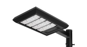 Luminária LED Externa Preta - LEX01-S4M750 Abalux