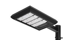 Luminária LED Externa Cinza - LEX01-S4M750C Abalux