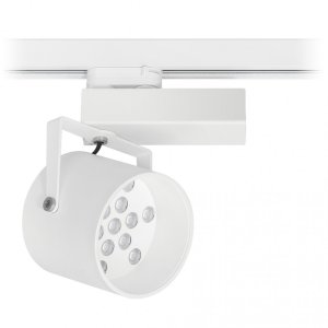 Spot LED para Trilho Eletrificado Branco - SR18-S13L830MB Abalux