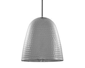 Pendente em metal cromado - 27cm - 5771 Mart Collection