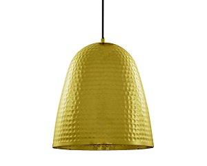 Pendente em metal dourado - 27cm - 5773 Mart Collection