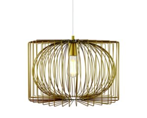 Pendente em metal dourado - 6523 Mart Collection