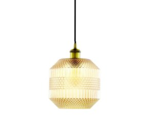 Pendente em vidro dourado - 6221 Mart Collection