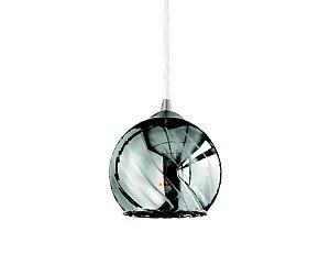 Pendente em vidro cromado - 7401 Mart Collection