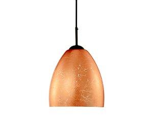 Pendente em vidro folheado cobre - 6658 Mart Collection