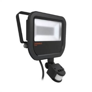 Refletor Projetor LED 20w Branco Frio 5000k Preto com Sensor Floodlight Ledvance OSRAM