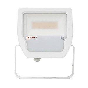 Refletor Projetor LED 30w Branco Quente 3000k Branco Floodlight Ledvance OSRAM