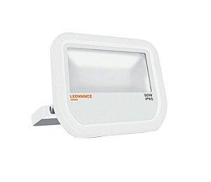 Refletor Projetor LED 50w Branco Quente 3000k Branco Floodlight Ledvance OSRAM