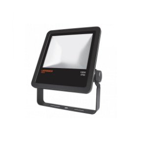 Refletor Projetor LED 100w Branco Quente 3000k Preto Floodlight Ledvance OSRAM