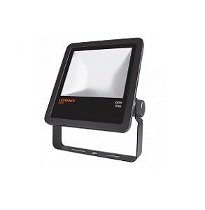 Refletor Projetor LED 100w Branco Frio 5000k Preto Floodlight Ledvance OSRAM