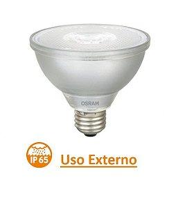Lâmpada LED PAR30 Externa 9,5w IP65 1060lm 3000k Bivolt E27 OSRAM