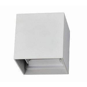 Arandela Ret Sobrepor 6W 3000K - Branco - DL134BR