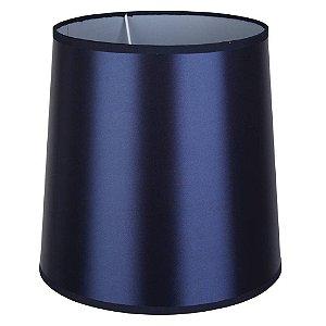Cúpula De Tecido 25Cmx30Cmx30Cm - Azul Marinho - CP253030A