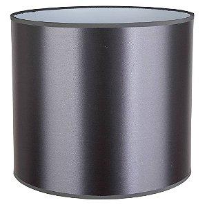 Cúpula De Tecido 39Cmx43Cmh - Cinza - CP393943C