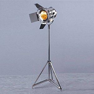 Luminária De Chão Em Aço Inox 105Cmh 1Xe14- Cr - EA015
