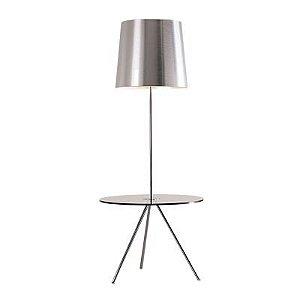 Luminária De Chão Em Aço-Alum 170Cmh 1Xe27 - Cr Es - HO117C