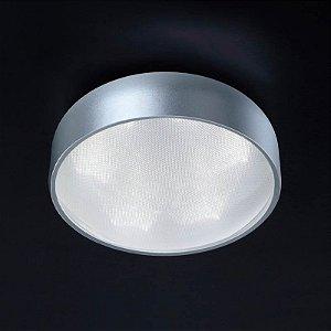 Plafon Alum-Acrílico 24,5Cmx10Cm  6Xled3W - Pr - HO092S