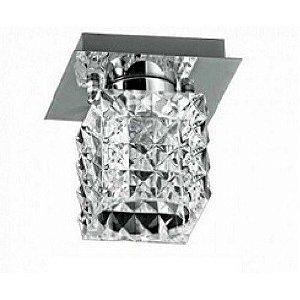 Plafon Prism 9Cmx9Cmx10Cm  1Xg9 - Cr-Tr - HU2149C