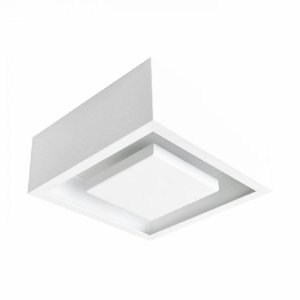 Plafon Sobrepor Quad Hide Led 12W - Br - DL081WW