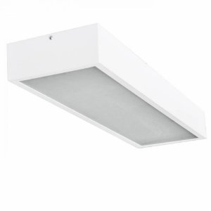 Plafon Sobrepor Ret Box 2Xt8-T5 -   Br - DL076
