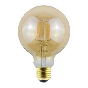 Lâmpada Led Vintage Globe 2.5W 2500K 220LM E27 Biv Osram