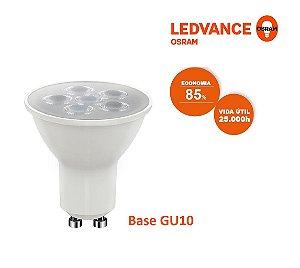 Lâmpada Led Dicróica 6w 3000k 525lm HO GU10 Bivolt 7014418 LEDVANCE OSRAM