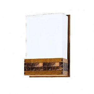 Arandela Retangular 20x30X9 com Pastilha - 443 Accord Iluminação