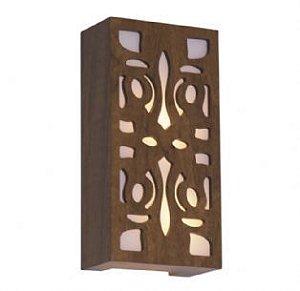 Arandela Retangular Arabesco 15x30x8,5 - 448 Accord Iluminação