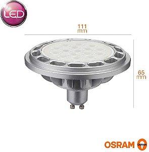 LÂMPADA LED AR111 13W 3000K 1250lm BIV LEDVANCE OSRAM