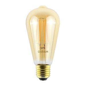 LÂMPADA LED EDISON VINTAGE 4.5W 2500K 420lm BIV LEDVANCE OSRAM - 7014556