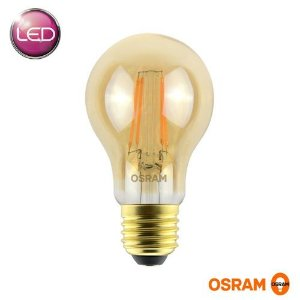 LÂMPADA LED VINTAGE CLA40 5.5W 2500K 560lm BIV LEDVANCE OSRAM - 7014554