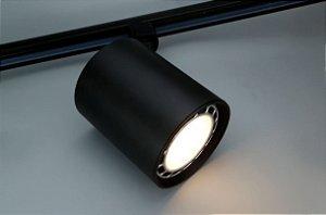Spot para Trilho Eletrificado AR111 GU10 Preto Osram