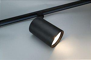 Spot para Trilho Eletrificado PAR30 E27 Preto Osram
