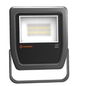 Refletor Floodlight 10W 3000K 1100LM Biv Preto Osram