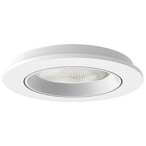 Embutido Face Plana Recuado para PAR30 Branco Interlight
