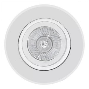 Embutido Orientável para AR70 Redondo Branco Interlight