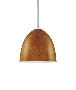 Pendente em metal na cor madeira - 4605 Mart Collection