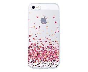 Capinha Silicone Coração Flutuante - iPhone