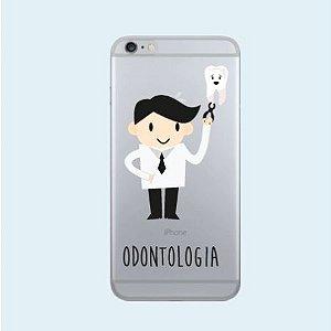 Capinha case Odontologia - iPhone