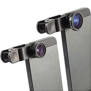 Lente Fisheye clipes para celular