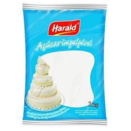 Açúcar de Confeiteiro Impalpável 1Kg - Harald
