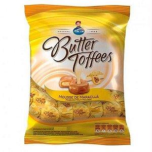 Bala Caramelo de Leite com Recheio Mousse de Maracujá Butter Toffees 600g - Arcor